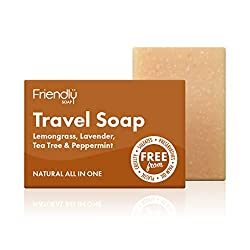 brown bar of soap, essential Airbnb packing list