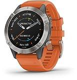 Garmin Fenix 6 Saphir Smartwatch mit Titanlnette 010-02158-14