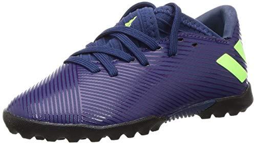 adidas Unisex Baby Nemeziz Messi 19.3 Tf J Kinder Fußballschuhe, Lila (Tech Indigo/Signal Green/Glory Purple), 30 EU