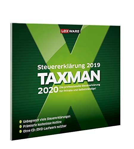 Lexware Taxman 2020 für das Steuerjahr 2019|Übersichtliche Steuererklärungs-Software für Arbeitnehmer, Familien, Studenten und im Ausland Beschäftigte