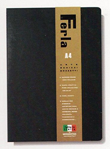 MORGANTINA BLOCCO SPIRALATO A4 FERLA CARTA DA PACCO 100gr. 60 FG. PURA CELLULOSA
