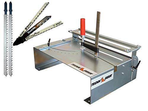 Mesa de sierra de calar 014H + Bosch Makita + 2 hojas...