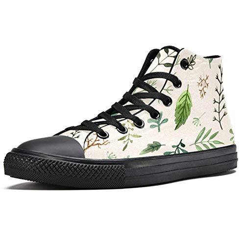 LORVIES - Zapatillas deportivas para hombre, (multicolor), 44.5 EU
