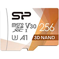 Silicon Power 256GB Micro SDXC UHS-I U3 Gaming Matrix Card with Adapter