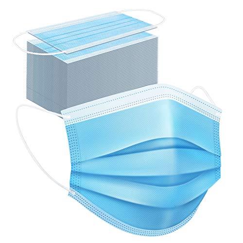 SOYES Ältere Kinder Erwachsene Masken Mundschutz 50 Stück Medizinischer Mundschutz CE Zertifiziert - TYP IIR Mundschutz Einweg maske - Medizinische Masken Gesichtsmaske Mund Nasen Schutzmasken