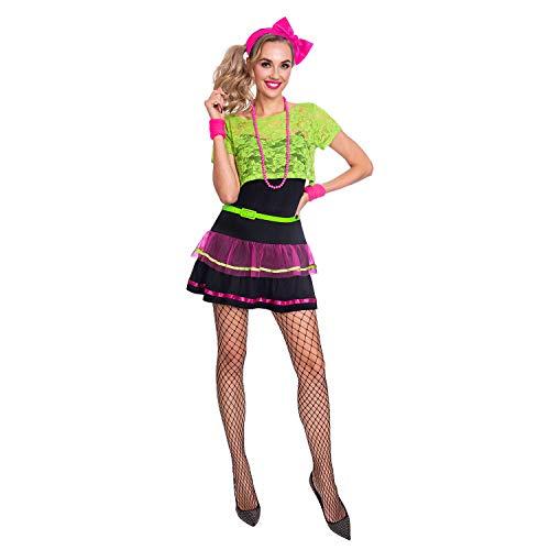 amscan- Disfraz Pop Diva, 14 – 16 años – 5 Unidades, Women to (9905870)