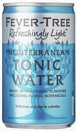 Fever-Tree Refreshingly Light Mediterranean Tonic Water 15 x 150ml Cans - 2
