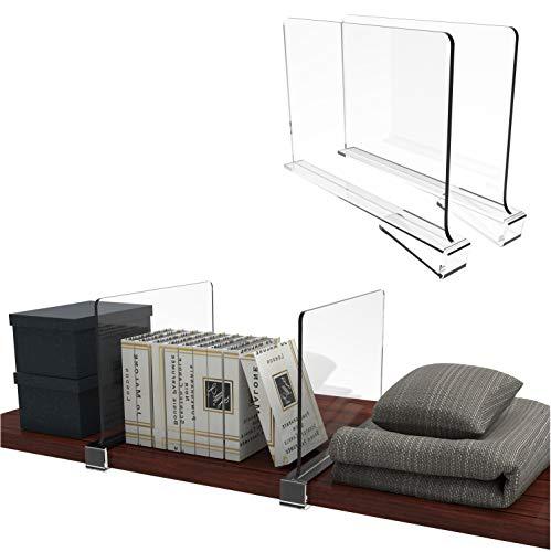 Multifunction Acrylic Shelf Dividers