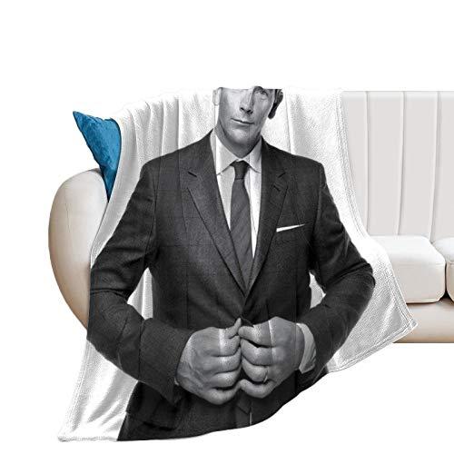 QHGT Ben Mendelsohn - Mantas de microfibra ultrasuaves para el hogar, sofá, cama, sofá, acogedoras y ligeras para todas las estaciones de regalo, manta impresa en 3D para niños y adultos, 150 x 100 cm