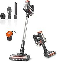 Womow Cordless Vacuum Cleaner, 25Kpa 400W Digital Motor Powerful Stick Vacuum, Rechargeable Battery Powered Pet Hair Vacuum, Portable 2 in 1 Handheld Vacuum Cleaner for Hard Floor Stairs Car, W20