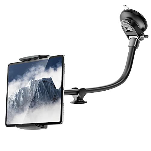 """Auto Tablet Halterung APPS2Car 14\"""" Long Arm KFZ Tablet Halterung Anti-Vibration 360 Grad einstellbar für 7,9-11 Zoll Tablet Halter Auto kompatibel für iPad Mini/9,7/10,2/10,5 und mehr"""