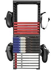 LOVOICE Il Rack di Stoccaggio della Scatola di Carte di Gioco È Adatto per La Staffa della Scatola di Immagazzinaggio A Doppio Strato del Disco di Gioco PS5