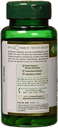 Nature's Bounty Ginkgo Biloba 120 mg 100 ea (Pack of 3)