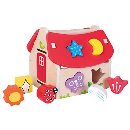 New Classic Toys Maison des Formes Jeu Éducatif pour Enfants