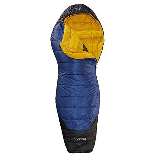 Nordisk Puk -2° Curve Schlafsack L blau/schwarz 2021 Quechua Schlafsack