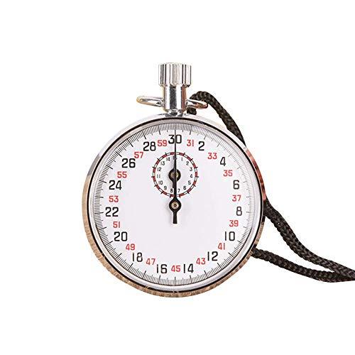 Mécanique Chronomètre Stop, Numérique Sports Chronomètre Stop Minuteur, Imperméable Multifonction à Main Sports Mécanique Chronomètre Stop Course Minuteur pour Sports Entraîneur Fitness - Argent