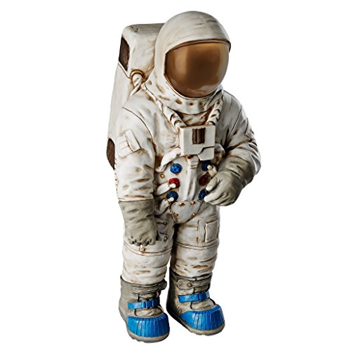 Design Toscano KY47117 Moon Man Astronaut Statue, Full Color