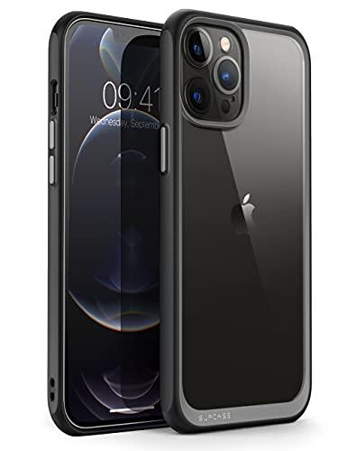 SUPCASE Funda iPhone 13 Pro 2021 6.1 Pulgadas [Unicorn Beetle Style] Delgado Case Protectora Transparente - Negro ⭐