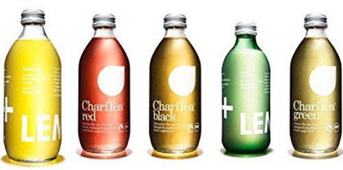 15 Flaschen Charitea/Lemonaid Mix 5 Sorten Red,Green,Black, Maraquja,Lemonaid a 330ml inc. 2.25€ MEHRWEG Pfand