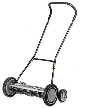 Earthwise 2001-20EW 20-Inch 5-Blade Push Reel Lawn Mower Grey