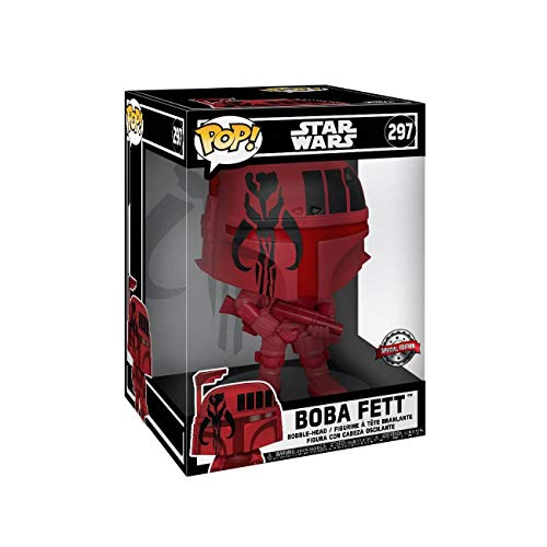 Star Wars Figura Vinilo Boba Fett (Life Size) 297 Unisex ¡Funko Pop! Standard, Vinilo,