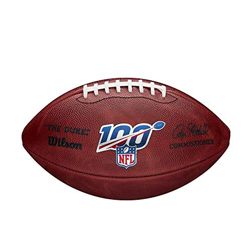 Wilson quotThe Dukequot Official NFL Game Football  100 Year Version
