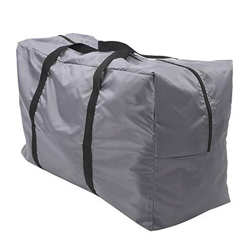 Yunnyp Kajak Tragetasche Aufblasbare Bootstasche Große Faltbare Aufbewahrung Tragetasche Handtasche Zubehör zum Kanufahren Schlauchboot Grau (Grau)