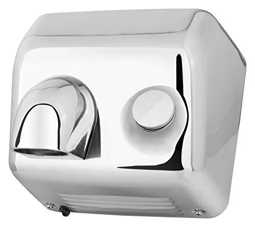 Stagecaptain Dryboy Händetrockner - Mit Taster - Leistung: 2300 Watt - stabile Metallkonstruktion - einfach zu installieren - Inklusive Bohrschablone
