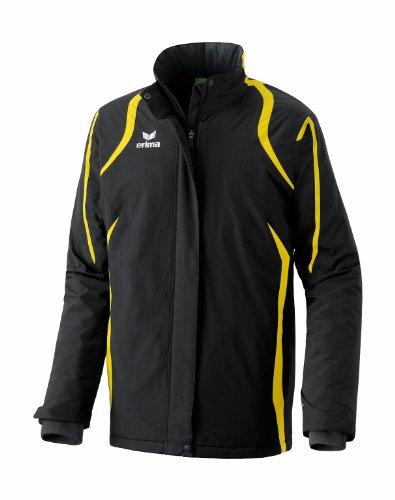 erima Herren Razor Winter- Stadionjacke, schwarz/gelb, XL/XXL, 106104