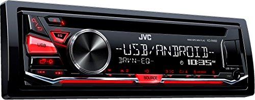 JVC KD-R482 Radio CD con Entrada Frontal USB/AUX