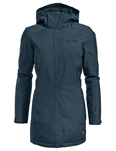 VAUDE Damen Women's Skomer Winter Parka Jacke, Steelblue, 38