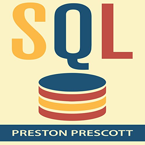 SQL for Beginners audiobook cover art