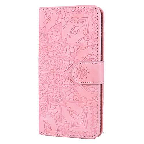 Galaxy A51 Hülle Handyhülle, Premium Leder Flip Schutzhülle[TPU-Schutz] [Standfunktion] [Kartenfächer] [Magnetverschluss] lederhülle klapphülle für Samsung Galaxy A51 -
