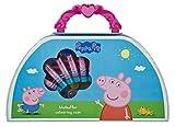 Undercover PIGP4220 Peppa Pig - Maletín de Pintura (51 Piezas, Ceras, rotuladores, Acuarelas, lápices de Colores y Muchos Accesorios)