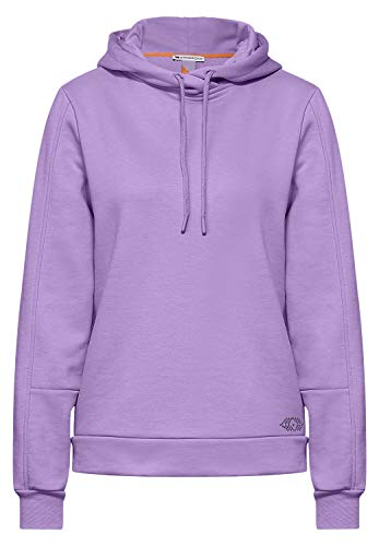Street One Damen 316036 T-Shirt, Clear Lilac, 40