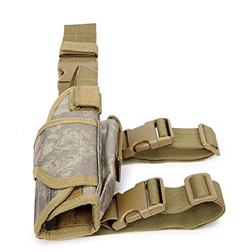 BGJ Universal Tornado Tactical Drop Leg Muslo Pistola Pistola Caza Militar Airsoft Glock Beretta Estuche para Pistola Estuche para Pistola Fundas para Pistola