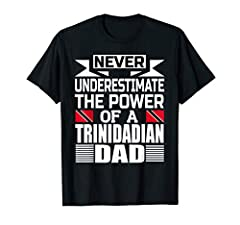 Trinidad and Tobago flag shirt for men. Trinidadians and Tobagonians father's flag gift shirt for many occasions such as Birthday, Christmas, Father's Day. Ideal for the father figure in your life: father, step-father, father-in-law, grandfather. Lig...