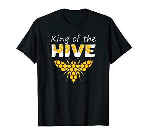 King of The Hive - Beekeeping Beekeeper Bee Funny Gifts T-Shirt