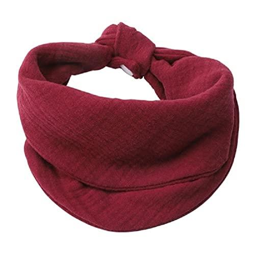 WEDFTGF baberos de alimentación de bebé suave gasa saliva toalla bebé ropa bufanda recién nacido tela bandana regalos ganchos ganchos de pared ganchos adhesivos
