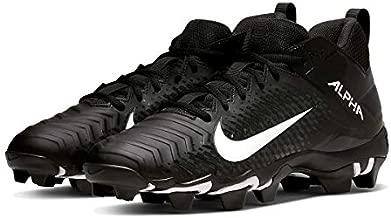 Nike Men's Alpha Menace 2 Shark Football Cleat Black/White/Anthracite Size 12 M US