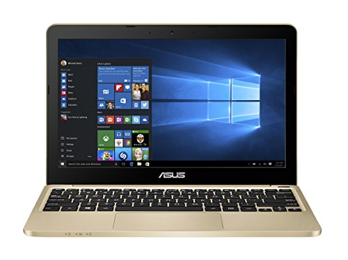 Asus e200ha fd0043ts 11,6 (29,4 cm) Ordinateur Portable (Intel Atom X5 z8350, 2 Go de RAM, 32 Go eMMC, Graphique Intel HD, Win 10 Home) Or sans Smartphone Or