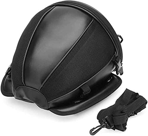 Motorcycle Trunk, Motorcycle Box Motorcycle Waterproof Race Moto Helmet Travel Bags Suitcase Saddlebags And Raincoat For Motorcycle Rear Seat Bag Mochila Moto , Motorcycle Seat Bag ( Color Name : Moto