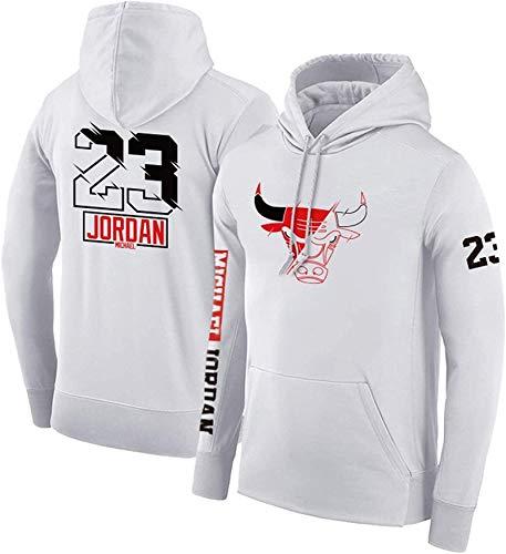 Superior, Michael Jordan No.23 Chicago Bulls - Sudadera de baloncesto con capucha para hombre, manga larga, para entrenamiento, cómoda y casual, moda callejera