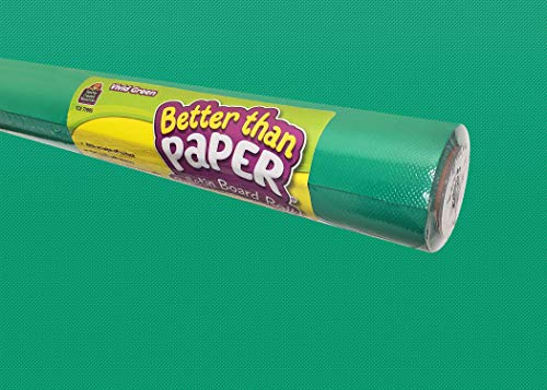 Teacher Created Resources Vivid Green Better Than Paper Bulletin Board Roll (TCR77895)