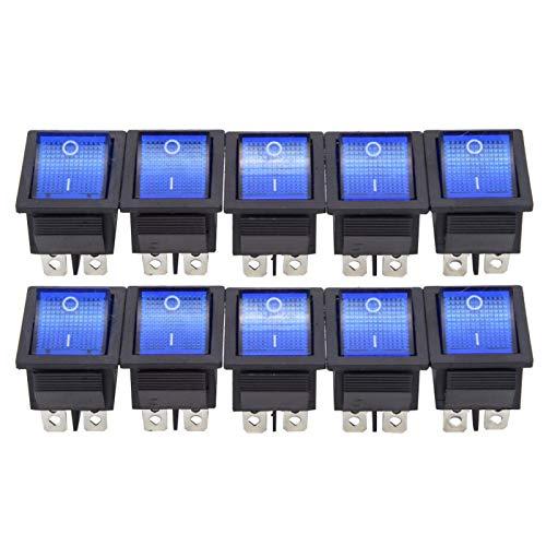 Interruptor basculante Electrodomésticos de Alta Resistencia Anti-con luz