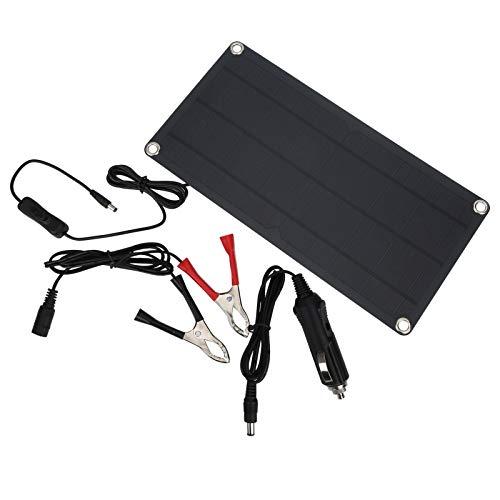 FECAMOS Banco de energía Solar con excelente Efecto de luz Baja de 10 W, fácil de Usar, para Mochilas de Bricolaje y Fines didácticos