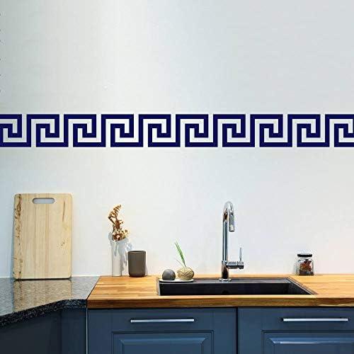Littledollz Greek Key Wall Stickers Set of 50 Greek Pattern Wall Pattern Wall Decals Wall Border product image