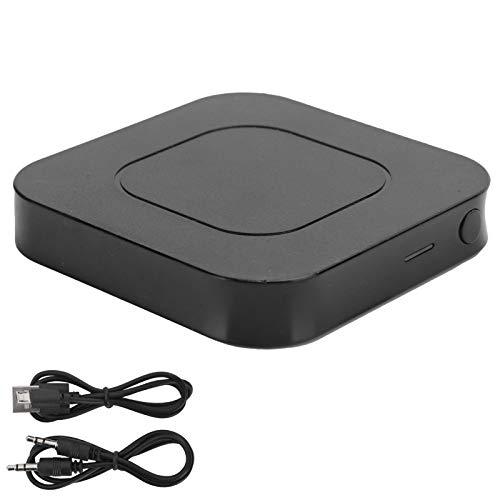 Receptor Buetooth, BT-13 Receptor de audio Bluetooth 5.0 Transmisor Adaptador inalámbrico de música estéreo 2 en 1, Adaptador de audio Bluetooth para sistema estéreo doméstico o reproductor de CD