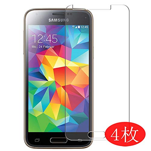 Vaxson 4 Stück Schutzfolie kompatibel mit Samsung Galaxy S5 Mini / G870a G870W SM-G800, Displayschutzfolie Bildschirmschutz Blasenfreies TPU Folie [Nicht Panzerglas]