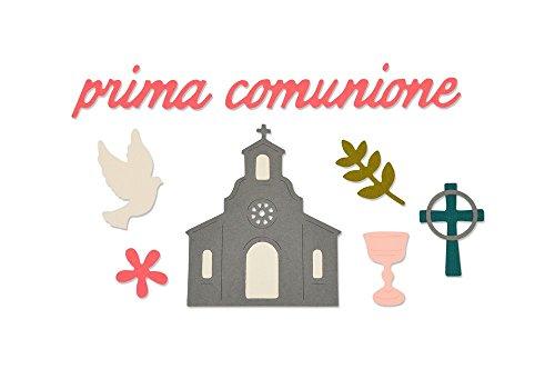 Sizzix Thinlits Troqueles 9PK Prima Comunione (First Communion)